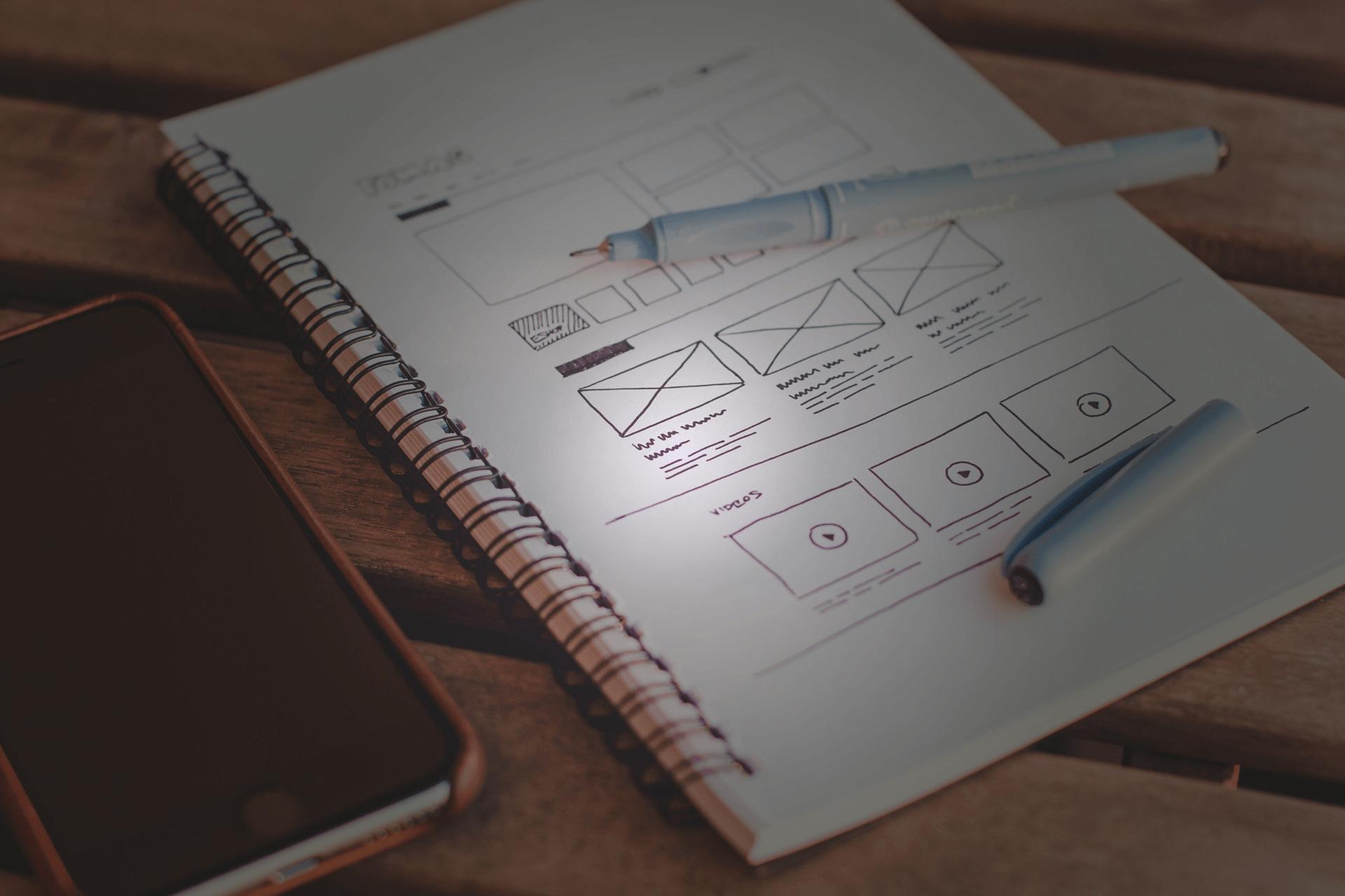 Un diseño de sitio web sobresaliente